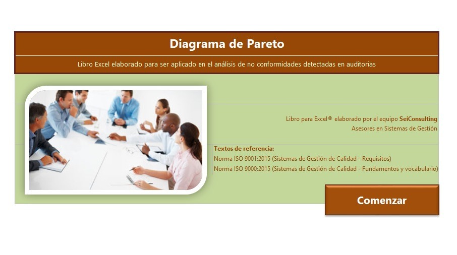 Plantilla Excel - Analisis Causa Raiz - Iso - 9001 - Bs. 3.200,00 en ...