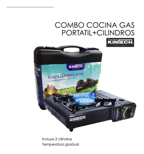 plantilla gas portatil