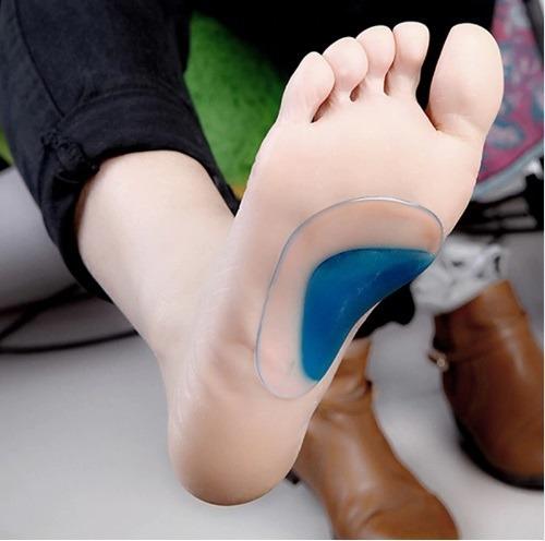 plantilla ortopédica gel pie plano no mas dolor al caminar