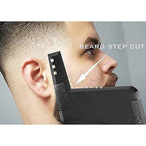 plantilla para barba ysagi, alineación y rebordeado.