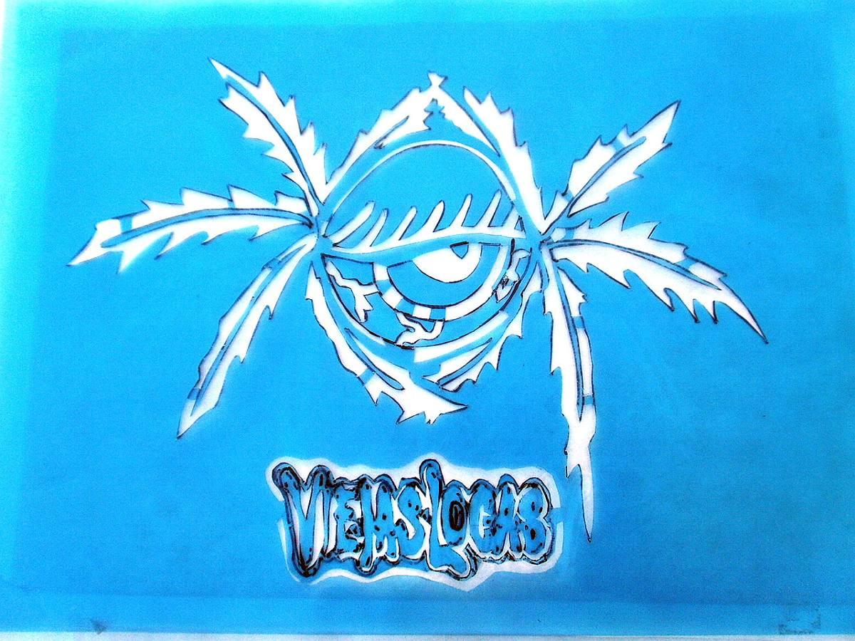 Plantilla Stencil Viejas Locas 24cm X 20cm Acetato Placa - $ 350,00 ...