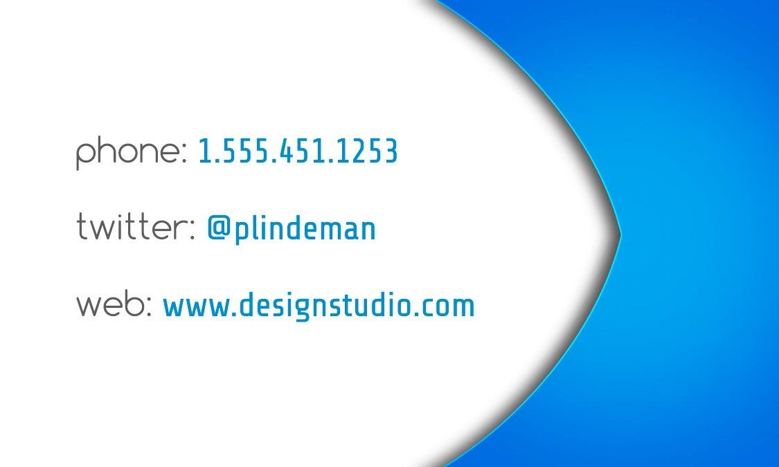 Plantilla Tarjeta Presentación 07 Photoshop Psd + Fuentes - $ 14.00 ...