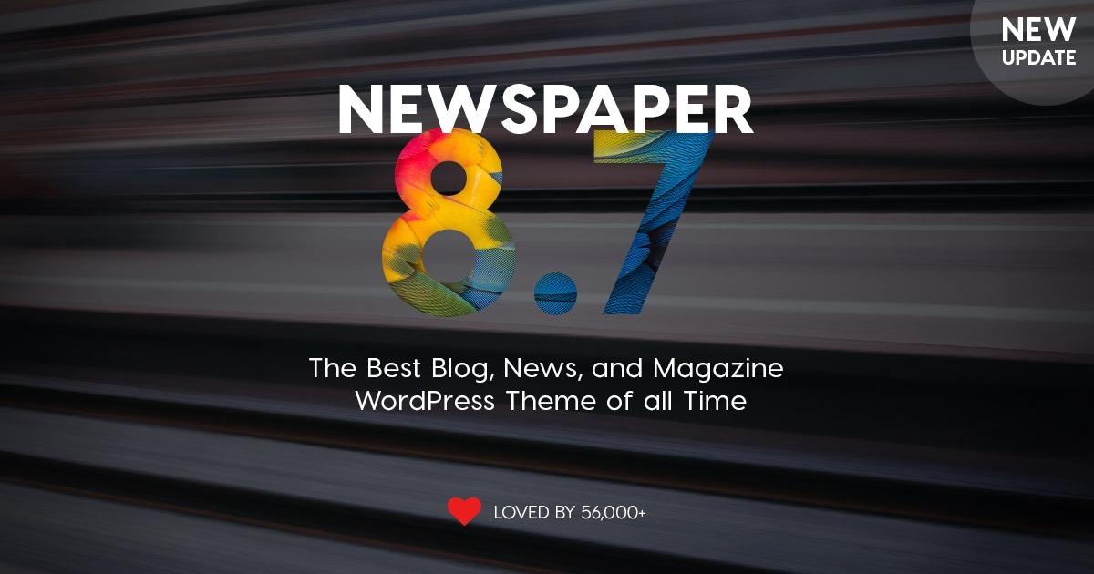 Plantilla Tema Theme Wordpress Prem Newspapper 8.8.+ Plugin - S/ 55 ...