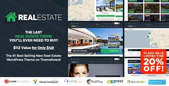 Plantilla Wordpress Premium Bienes Raíces Real Estate - S/ 25,00 en ...