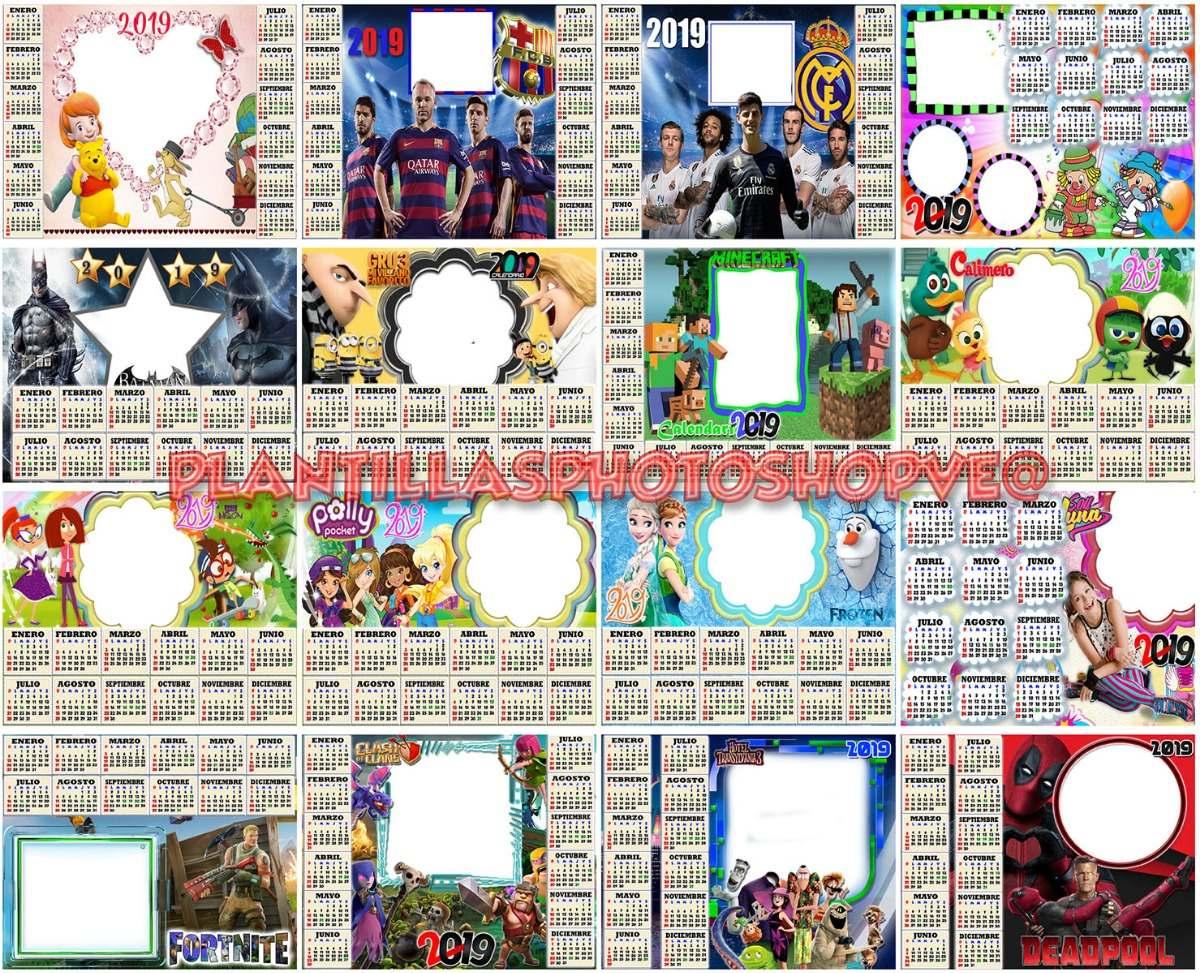 Calendario 2019 Disney Para Imprimir.Plantillas Calendario 2019 Formato Png Con Dias Feriados