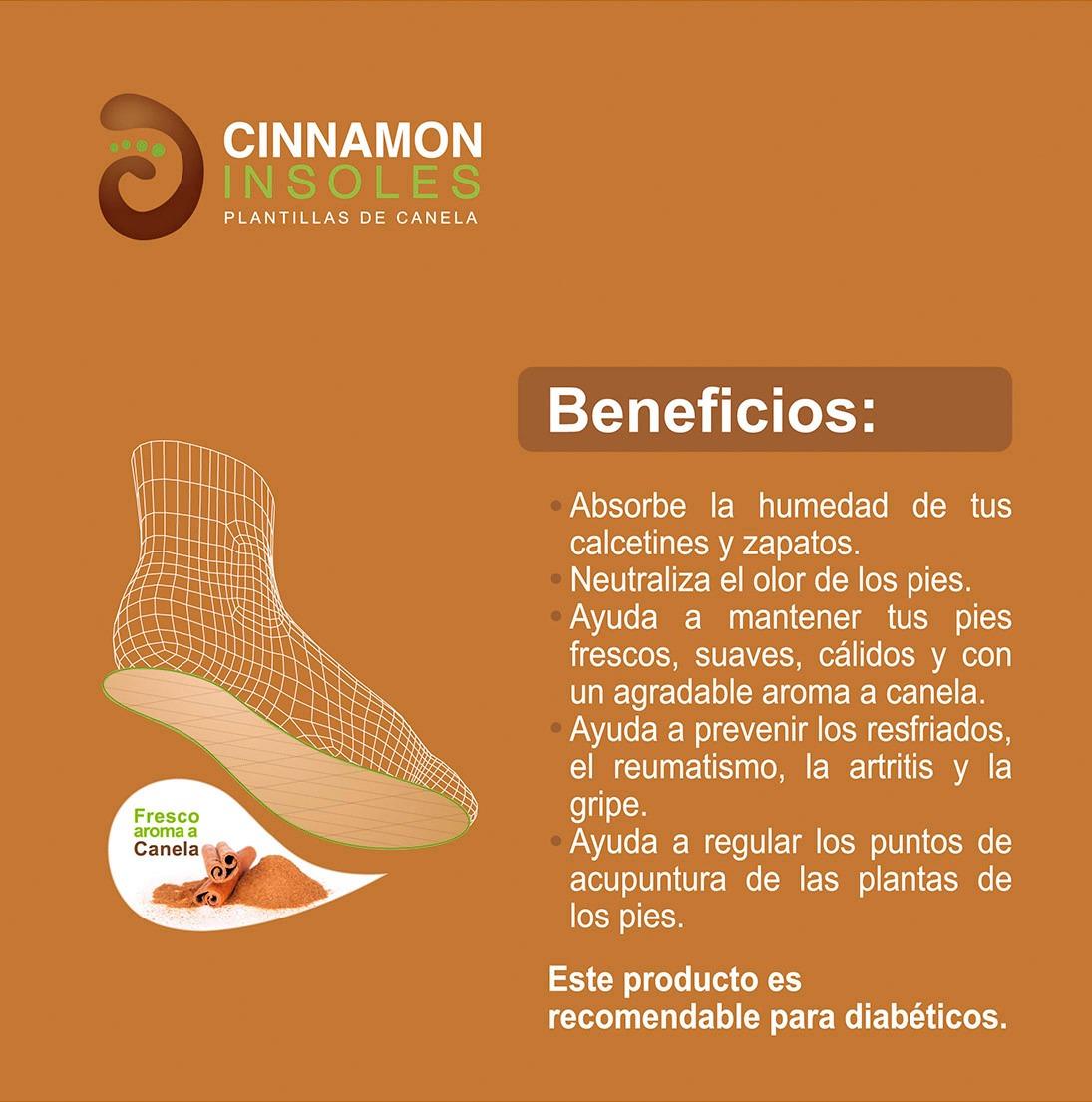 Plantillas De Canela 100% Natural - S/ 34,96 en Mercado Libre