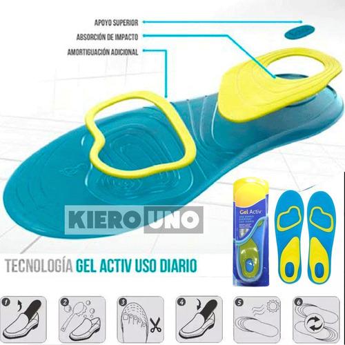 plantillas de gel silicona deportiva absorción de impacto
