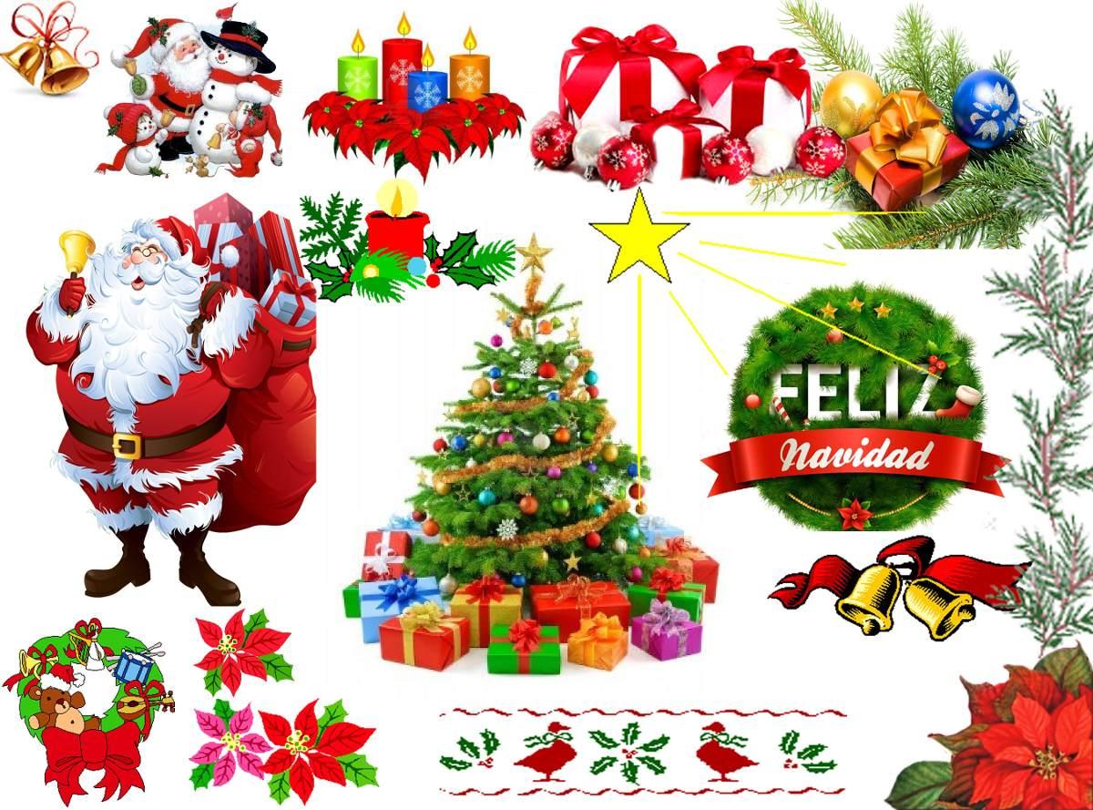 Plantillas De Navidad Para Fotomontajes, Fondos, Trajes. - Bs ...