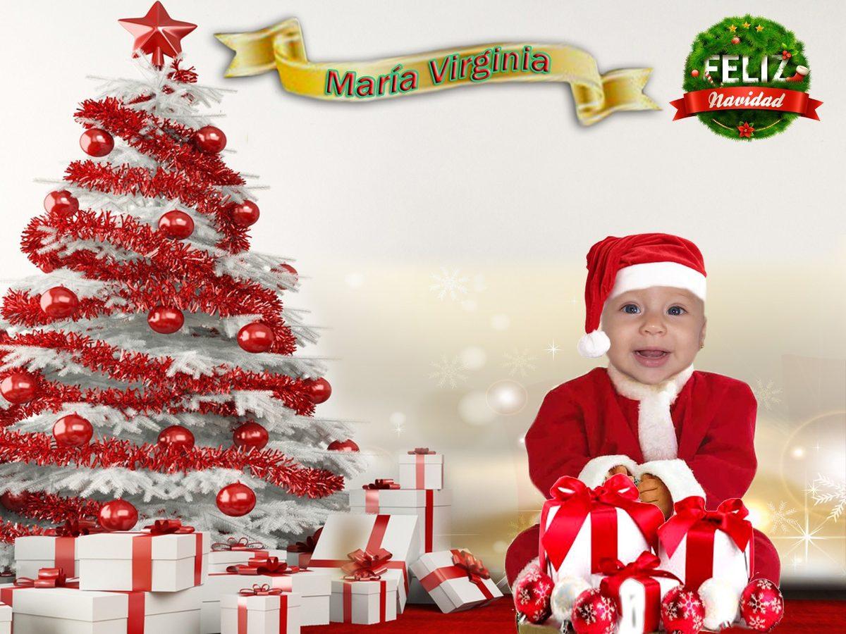 Fondo De Navidad Para Fotos: Plantillas De Navidad Para Fotomontajes, Fondos, Trajes