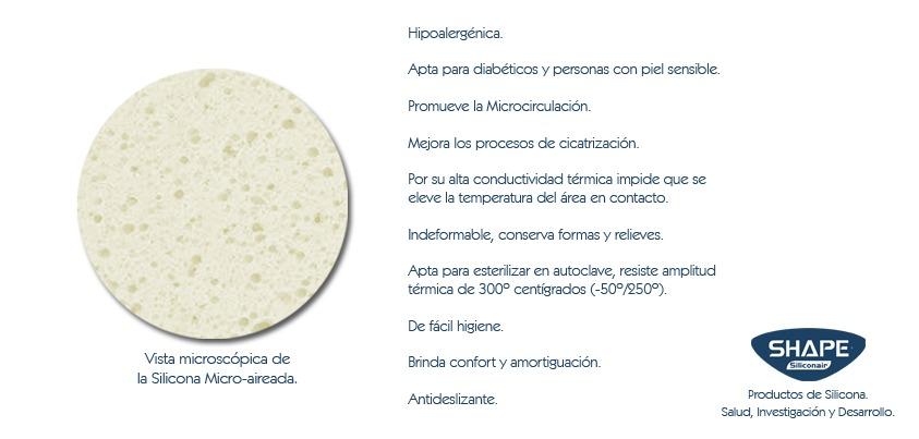 Plantillas De Silicona Aptas Para Pie Diabetico Y Sensible - $ 500 ...