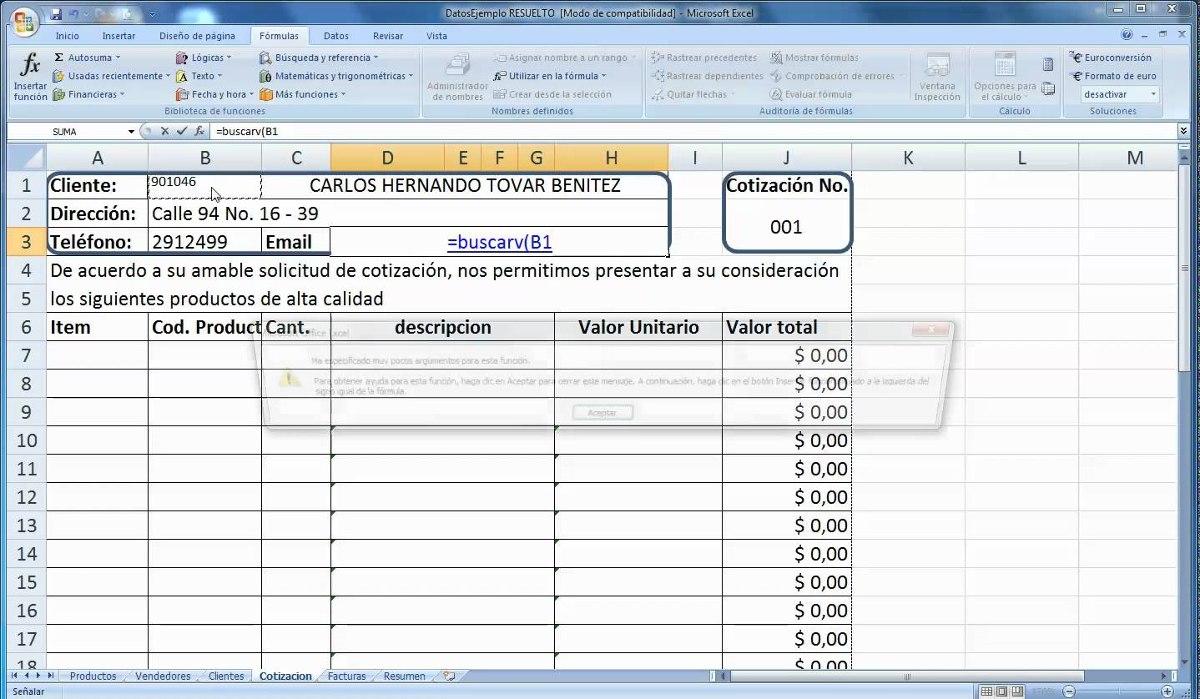 Plantillas En Facturas En Excel Digital, Notas De Entrega - Bs ...