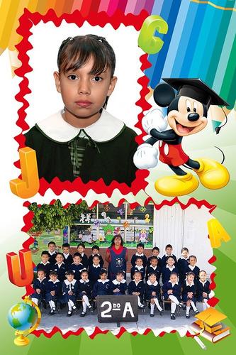 plantillas escolares en psd fotografos de escuelas kinder