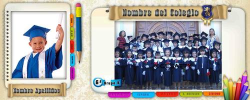 plantillas escolares para fotografos de escuelas envio grati