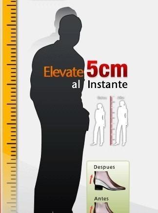 plantillas estatura aumenta 5 cms, unisex,silicona 1 par