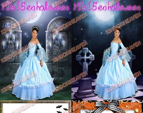 plantillas fotomontajes marcos halloween psd photoshop png