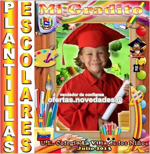 plantillas licenciaturas y escolares photoshop editables psd