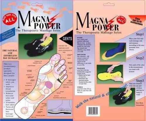 plantillas masajeadora magneticas reflexologia pies