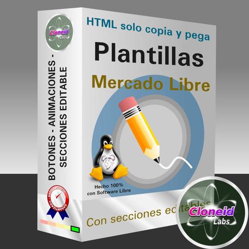 plantillas mercadolibre html sin powerpoint hd mercado libre