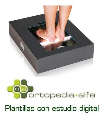 plantillas ortopédicas a medida con estudio digital