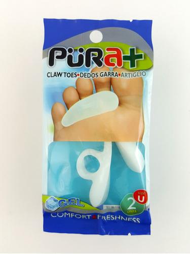 plantillas ortopedicas dedo garra pie pura+ (1 par)