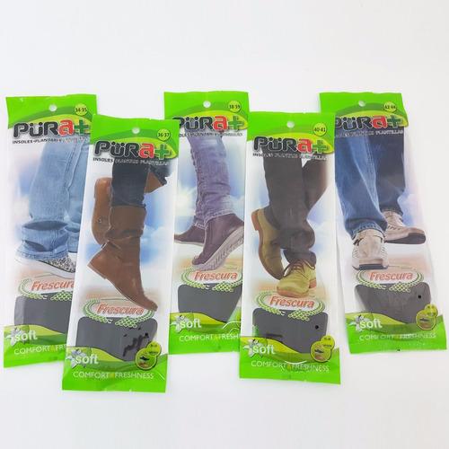 plantillas ortopedicas enteras zapatos memory neoprene pura+