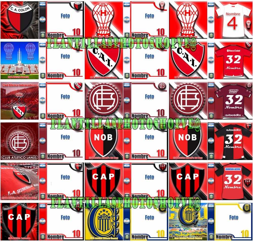 Plantillas Photoshop Tazas Sublimación Fútbol Argentino - $ 118,00 ...