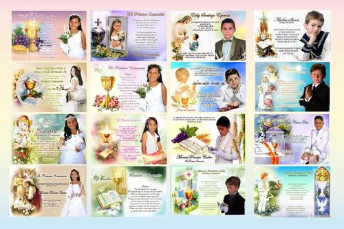 plantillas psd 2016 t.  y montajes para bautizo y comuniones