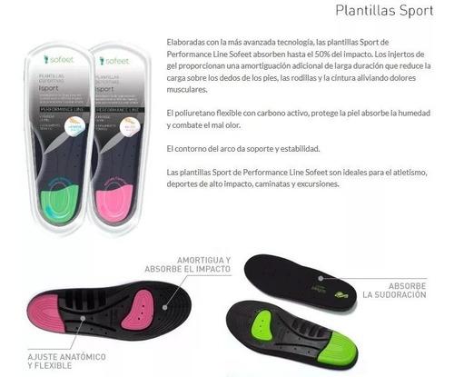 plantillas sofeet sport deportiva comfort ortopedicas olivos