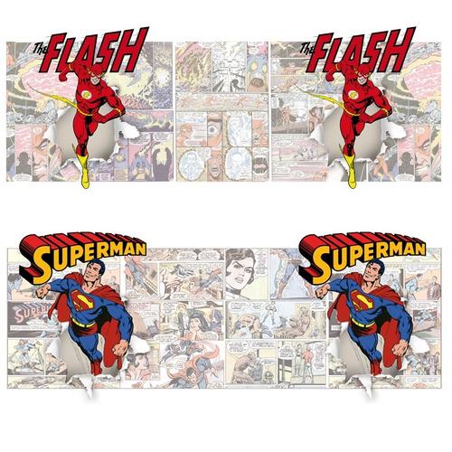 plantillas sublimación tazas - dc comics retro pack 1
