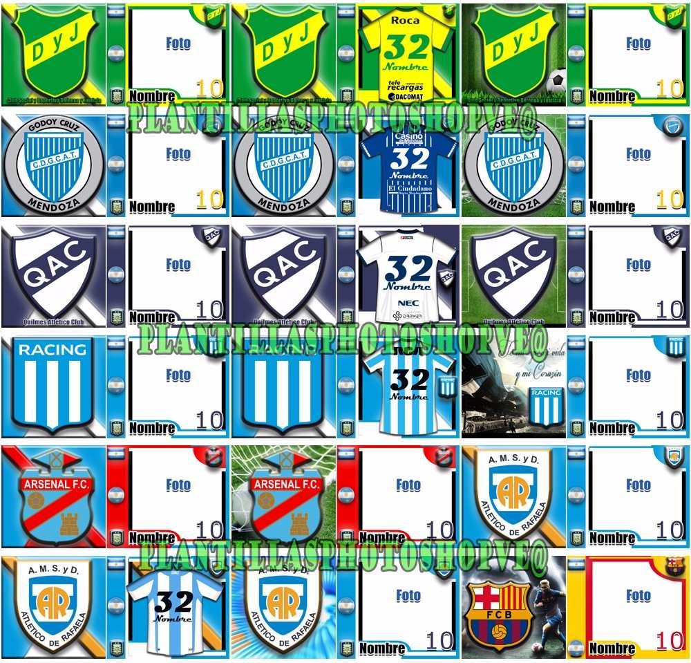 Plantillas Tazas Sublimacion Futbol Argentino Psd, Png , Jpg - $ 141 ...