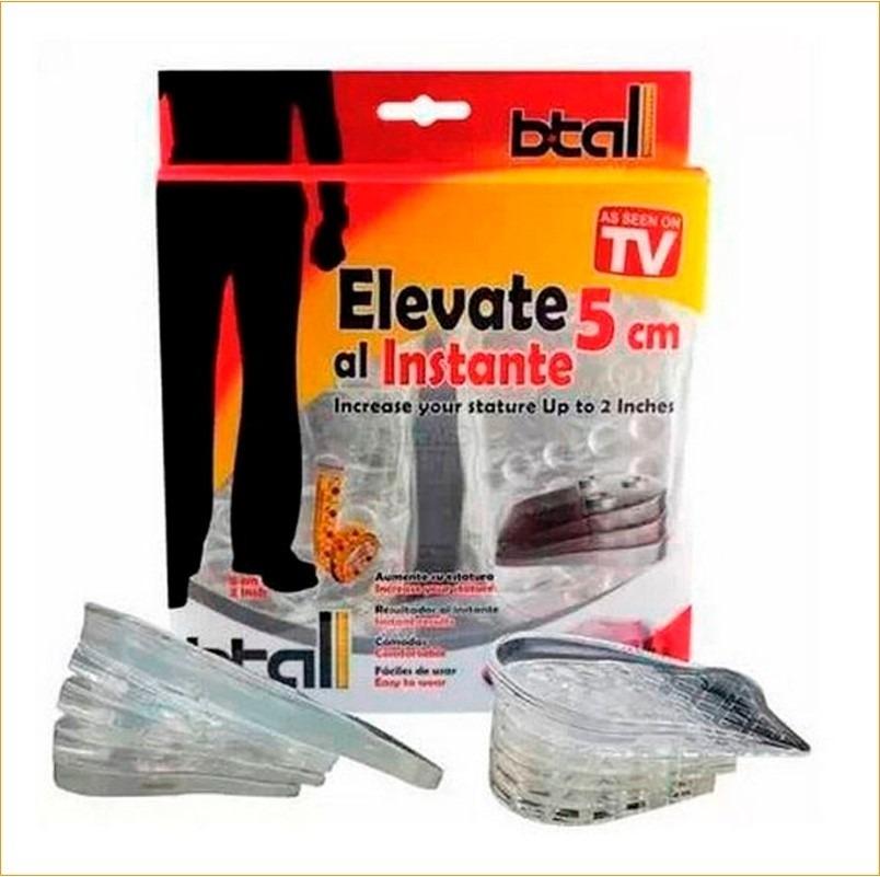 d8472bb262 Plantillas Unisex Elevate Shoes Hasta 5cm Mas Alto Con Btall - S  29 ...