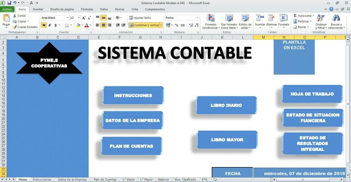 Plantillas Y Formatos Para Contadores Y Administradores - Bs. 1.000 ...