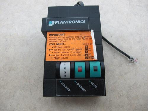 plantronics m10 amplificador base universal