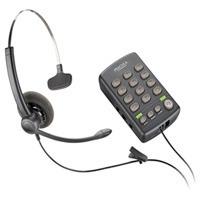 plantronics telefono analogico de diadema y teclado t110 \r