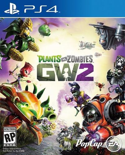 plants vs zombies 2 gw2 ps4 juego físico original sellado