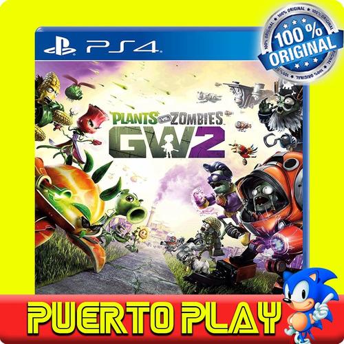 plants vs zombies 2 ps4 digital / sub español / 1° / rebaja
