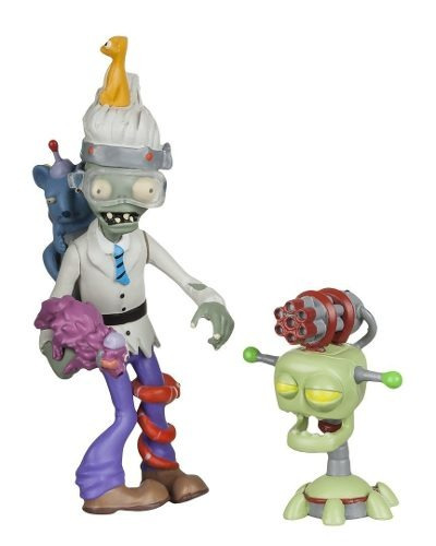 plants vs. zombies figura zoologist with laser turret