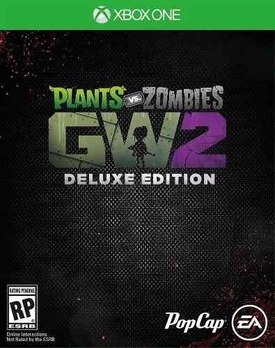 plants vs. zombies garden warfare 2: ed deluxe - xbox one -