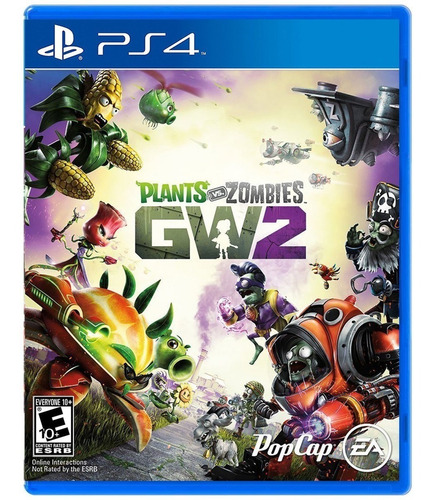 plants vs zombies garden warfare 2 / juego físico / ps4