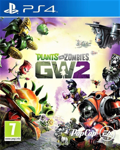 plants vs zombies garden warfare 2 ps4 disco fisico nuevos