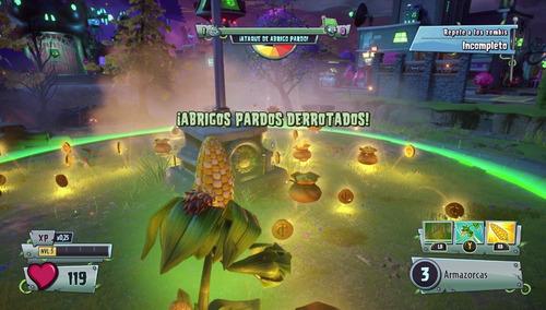 plants vs zombies garden warfare 2 - ps4 fisico sellado