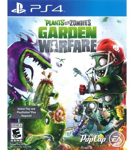 plants vs. zombies garden warfare digital ps4