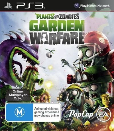 plants vs zombies garden warfare juego ps3 original