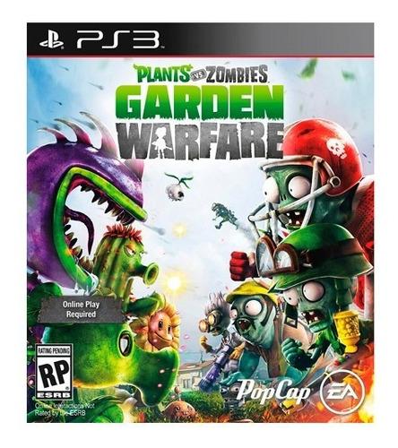 plants vs. zombies garden warfare ps3