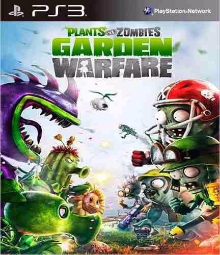 plants vs zombies garden warfare - ps3 - entrega imediata