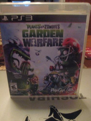 plants vs zombies garden warfare ps3 envio gratis