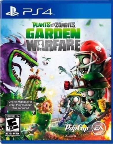 plants vs zombies garden warfare ps4(nuevo y sellado de fabr