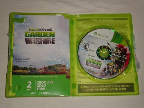 plants vs zombies garden warfare xbox 360 envio gratis