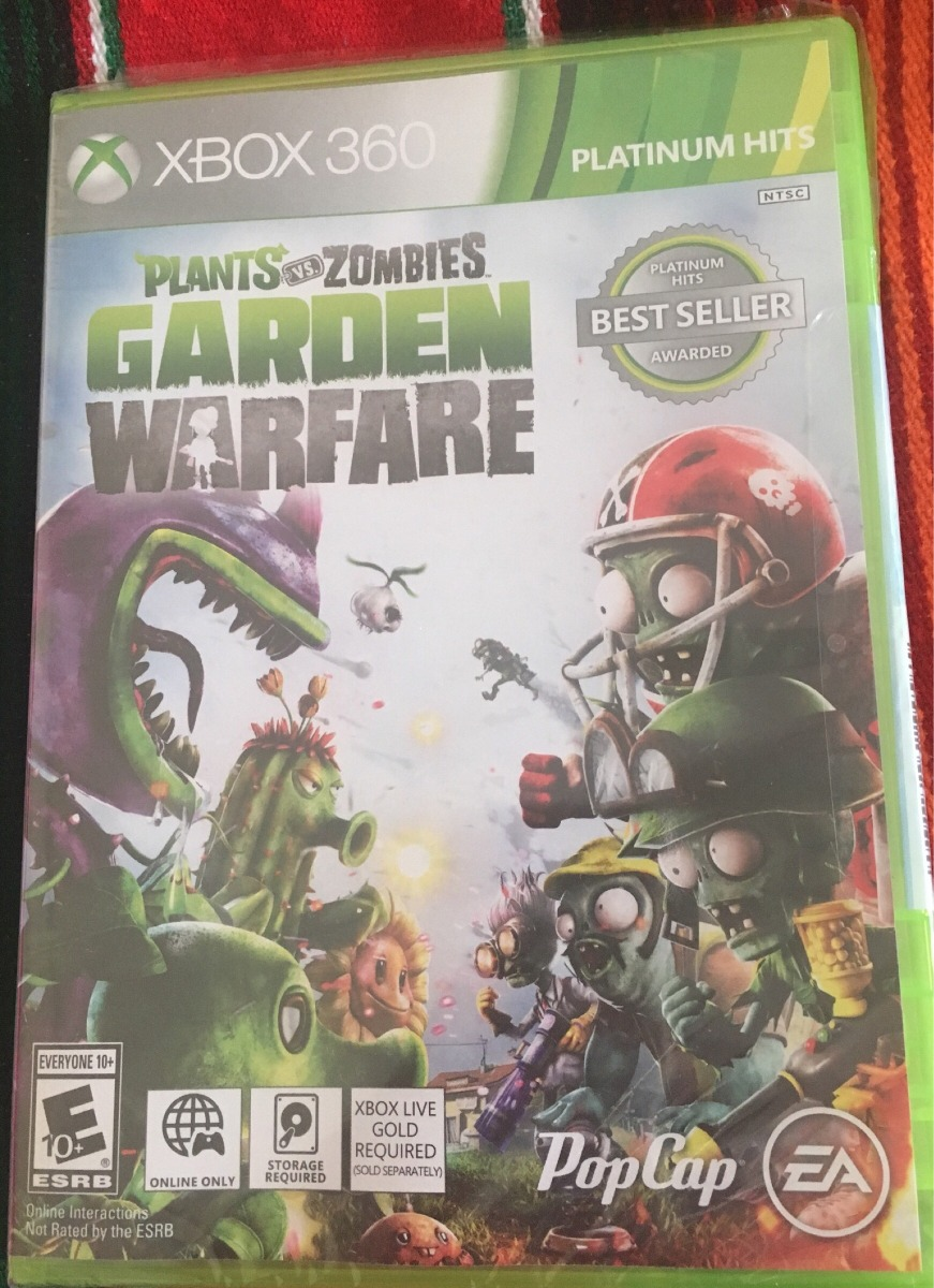 plants vs zombies garden warfare xbox 360 platinum hits cargando zoom - Plants Vs Zombies Garden Warfare Xbox 360