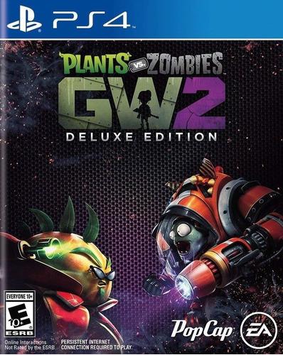 plants vs. zombies gw2 deluxe juego digital ps4